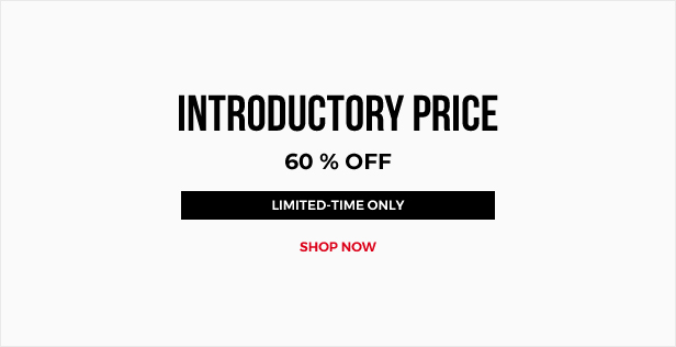 INTRODUCTORY PRICE