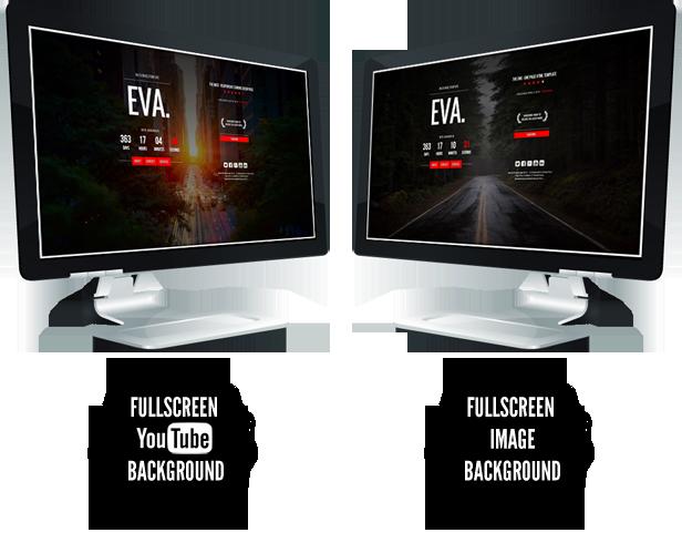EVA. || Responsive Coming Soon Page